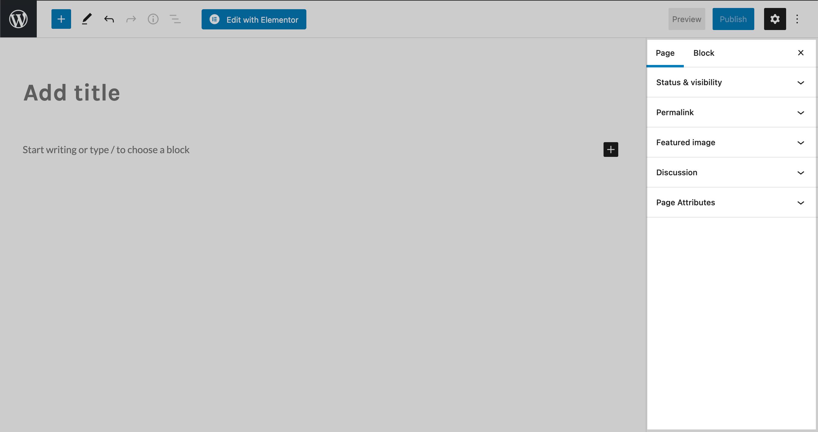 Screenshot of the metadata editor